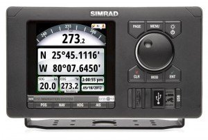 Simrad MX612 GPS Nav System