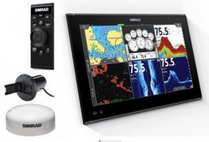 """Simrad NSO EVO3 19"""" System Pack"""